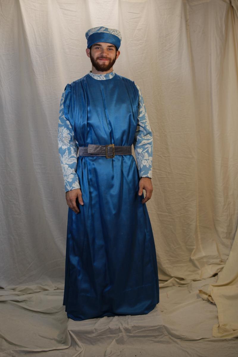 Renaissance – Men's Full Outfit,  Blue
