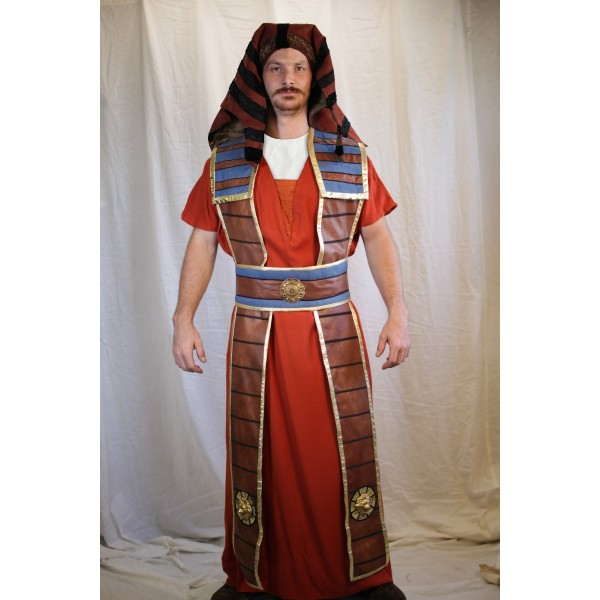 Egyptian – Men's Full Outfit,  Rust and Blue