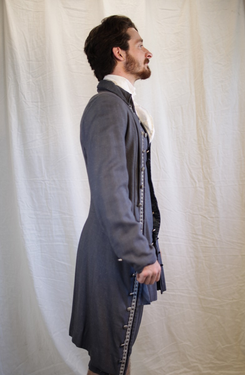 Colonial – Men's Full Outfit,  gray
