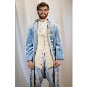 Colonial – Men's Full Outfit,  Blue
