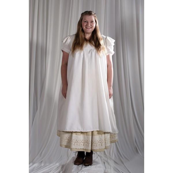 Crinoline/Civil War – Women's Full Outfit,  Cream and Yellow