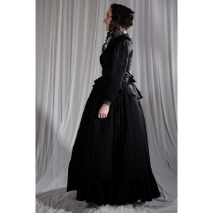 Crinoline/Civil War – Women's Full Outfit,  Black
