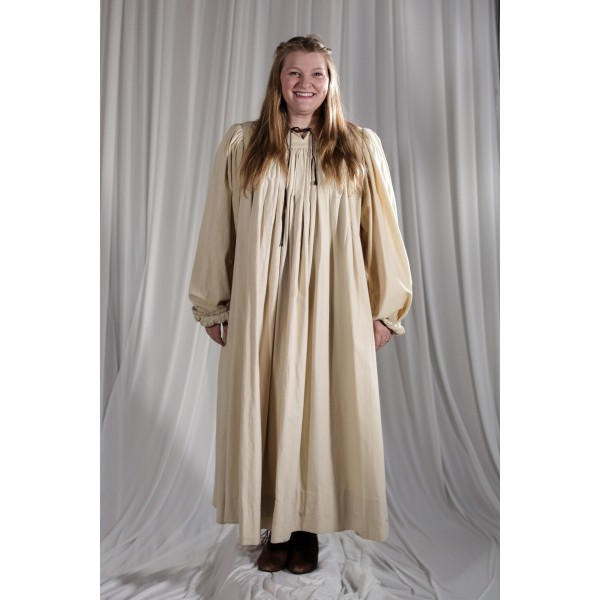 Crinoline/Civil War – Women's Night Dress,  Off White