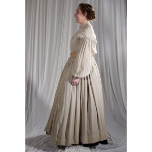 Crinoline/Civil War – Women's Full Outfit,  Tan