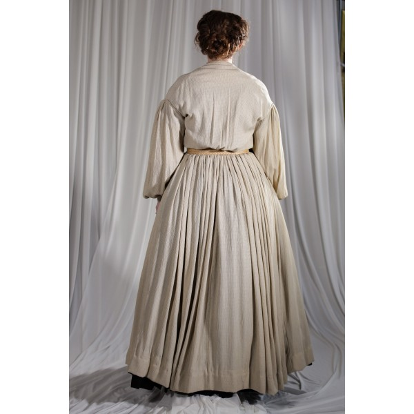 Crinoline/Civil War – Women's Full Outfit,  Tan