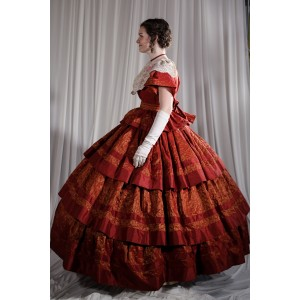 Crinoline/Civil War – Ball Gown,  Women's Full Outfit