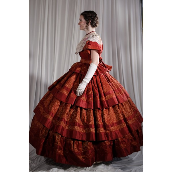 Crinoline/Civil War – Ball Gown,  Women's Full Outfit