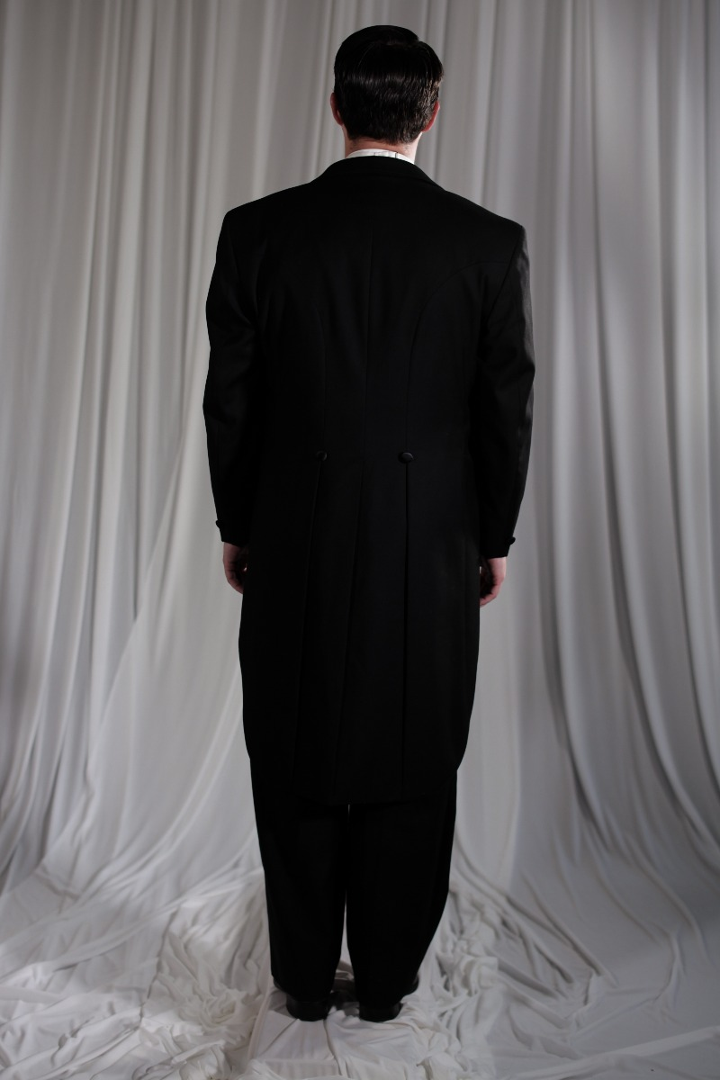 Crinoline/Civil War – Men's Full Outfit,  Black