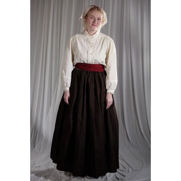 Crinoline/Civil War – Women's Full Outfit,  Nurse,  Brown