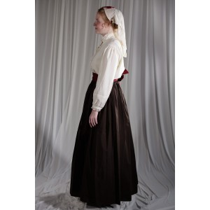 Crinoline/Civil War – Women's Full Outfit,  Nurse,  Brown