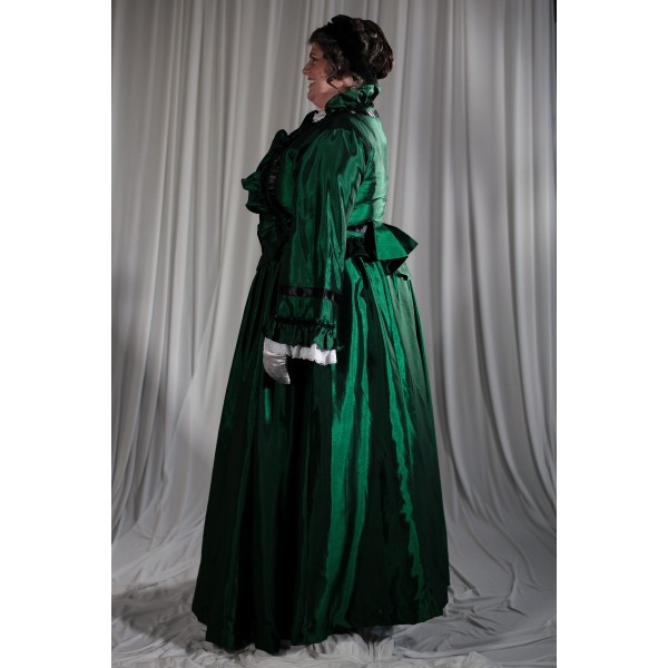 Crinoline/Civil War – Women's Full Outfit,  Green