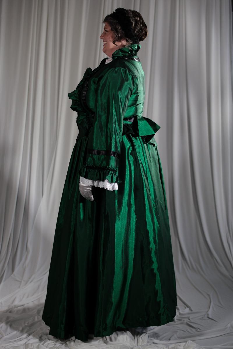 Crinoline/Civil War – Women's Full Outfit,  Green