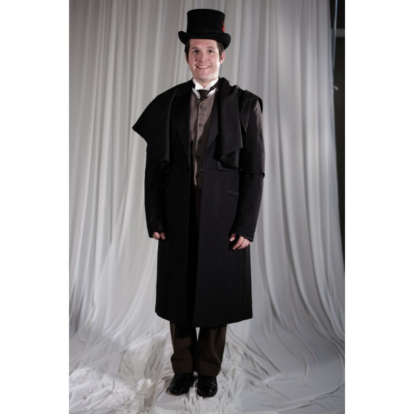 Crinoline/Civil War – Men's Full Outfit,  Winter Outfit,  Black