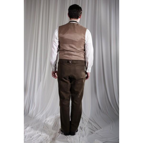 Crinoline/Civil War – Men's Full Outfit,  Tan