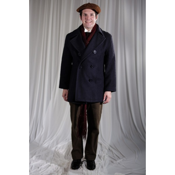 Crinoline/Civil War – Men's Full Outfit,  Winter Outfit,  Brown
