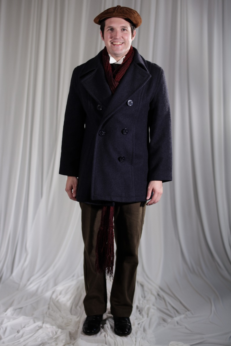 Crinoline/Civil War – Men's Full Outfit,  Winter Outfit,  Brown