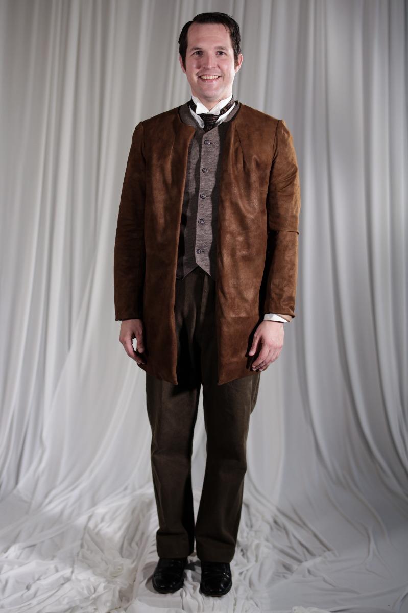 Crinoline/Civil War – Men's Full Outfit,  Brown