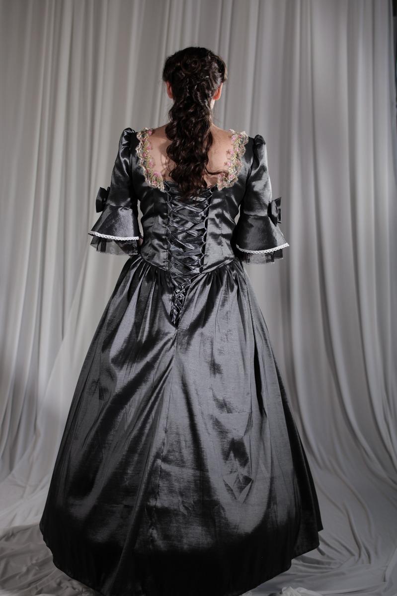 Crinoline/Civil War – Ball Gown,  Women's Full Outfit,  Gray