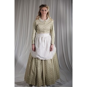Crinoline/Civil War – Women's Full Outfit,  Yellow