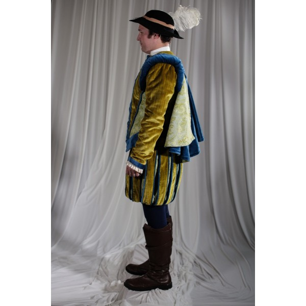 Renaissance – Men's Full Outfit,  Yellow