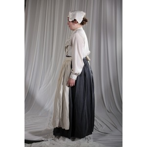 Crinoline/Civil War – Women'd Full Outfit,  Nurse,  Grey