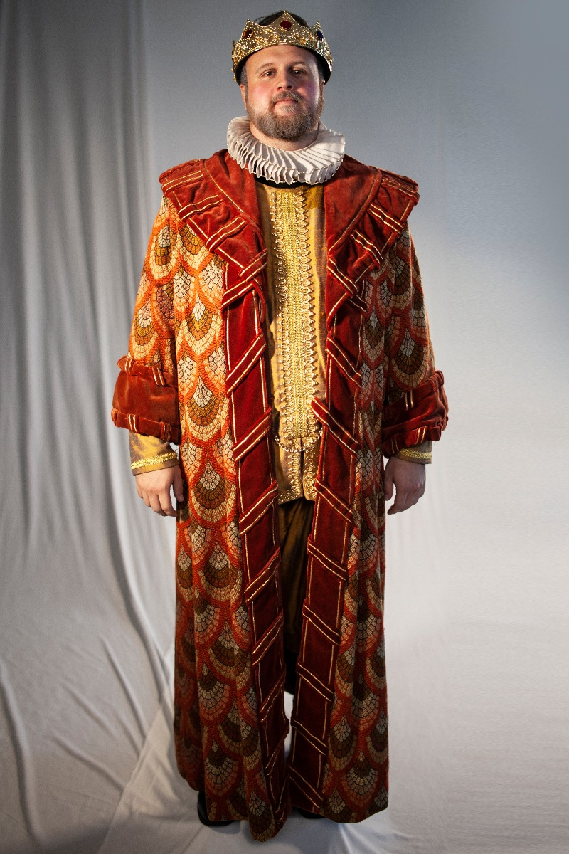 Renaissance – Men's Full Outfit,  King Outfit