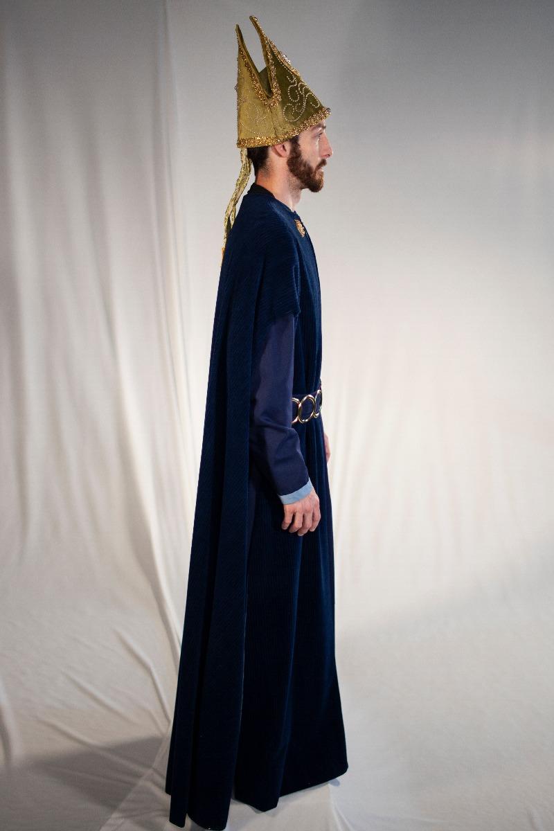 Renaissance – Men's Full Outfit,  Dk Blue