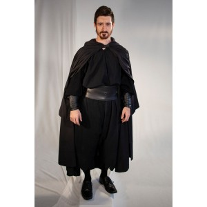 Renaissance – Men's Full Outfit,  Black