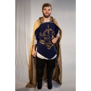 Renaissance – Men's Full Outfit,  Navy Prince Outfit 2