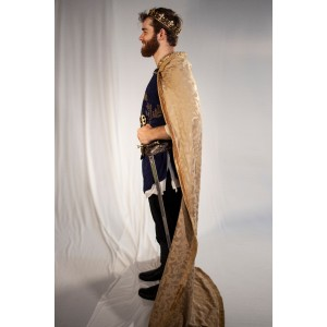 Renaissance – Men's Full Outfit,  Navy Prince Outfit