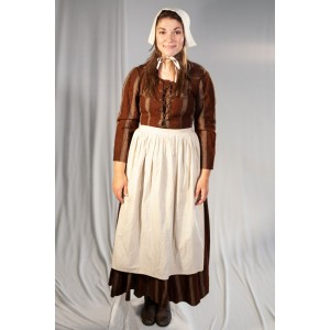 Renaissance – Women's Full Outfit,  Brown