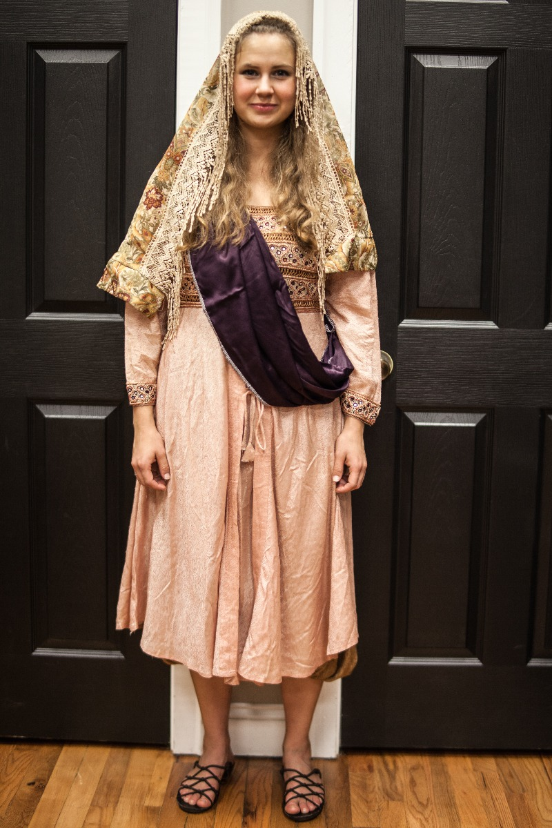 Ancient Persian – Women's Full Outfit,  Pink