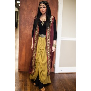 Ancient Persian – Women's Full Outfit,  Haman's Wife