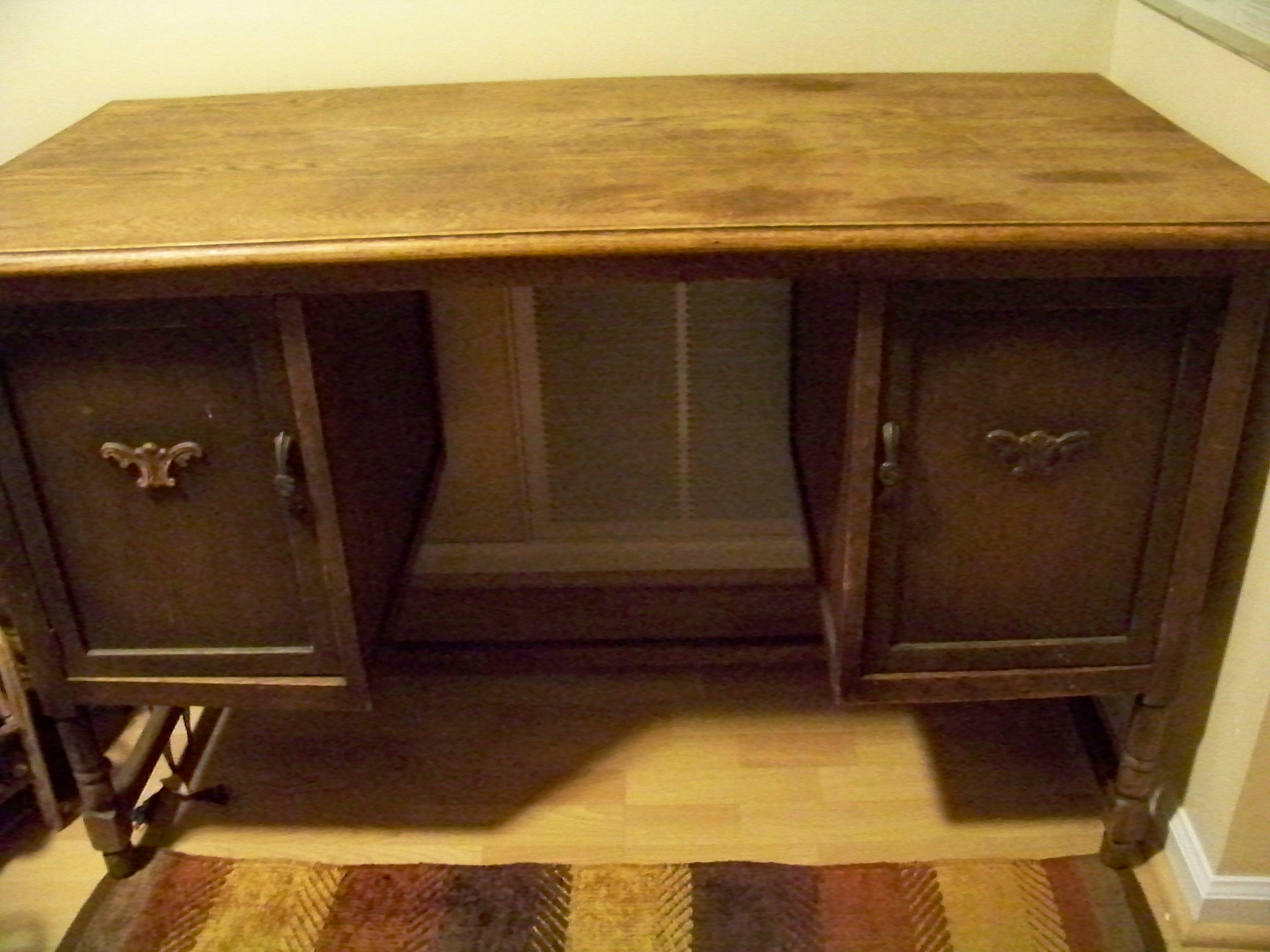 Desk, Vintage