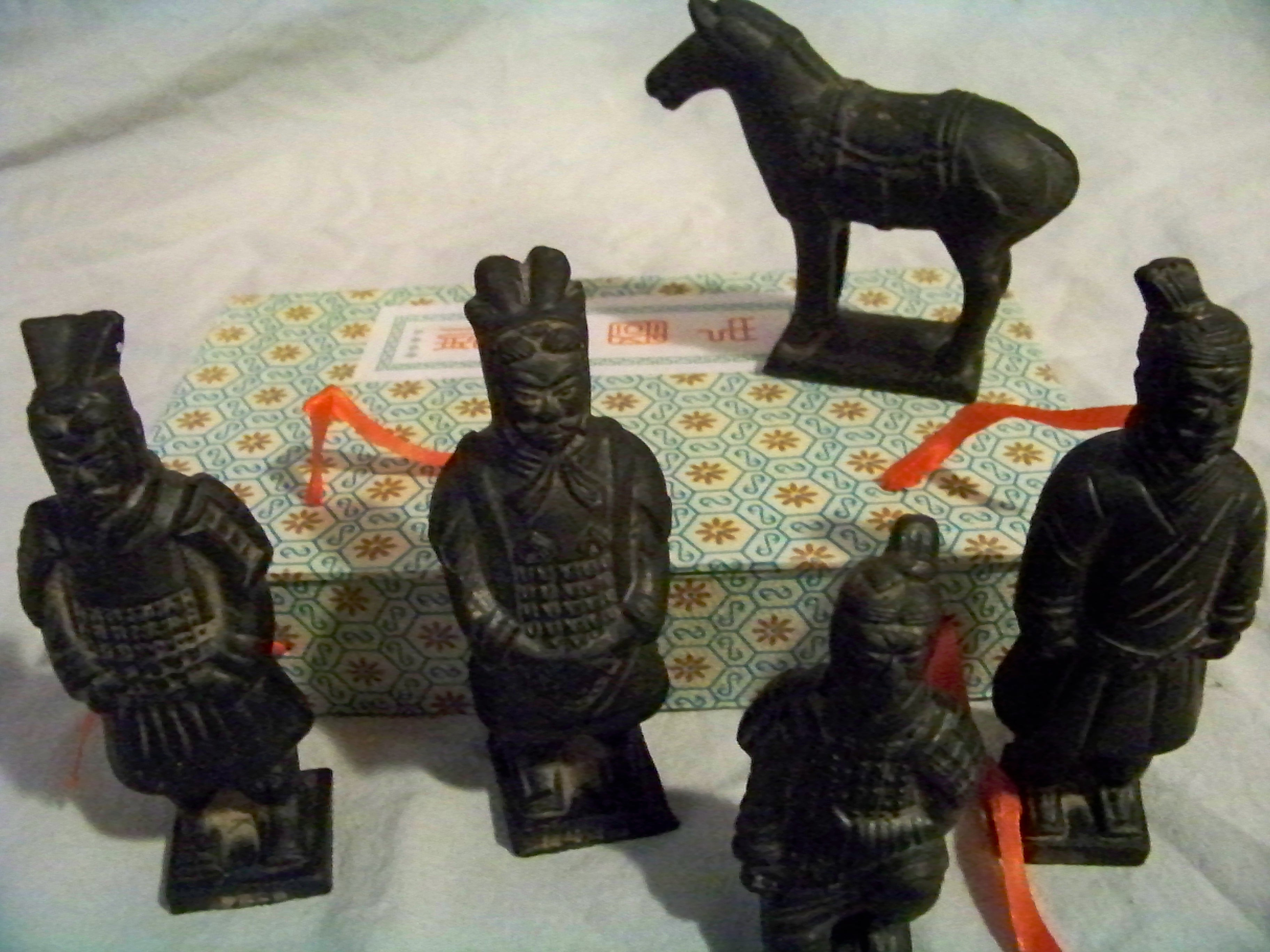 Terracotta Chinese Warrior Statue Figurines