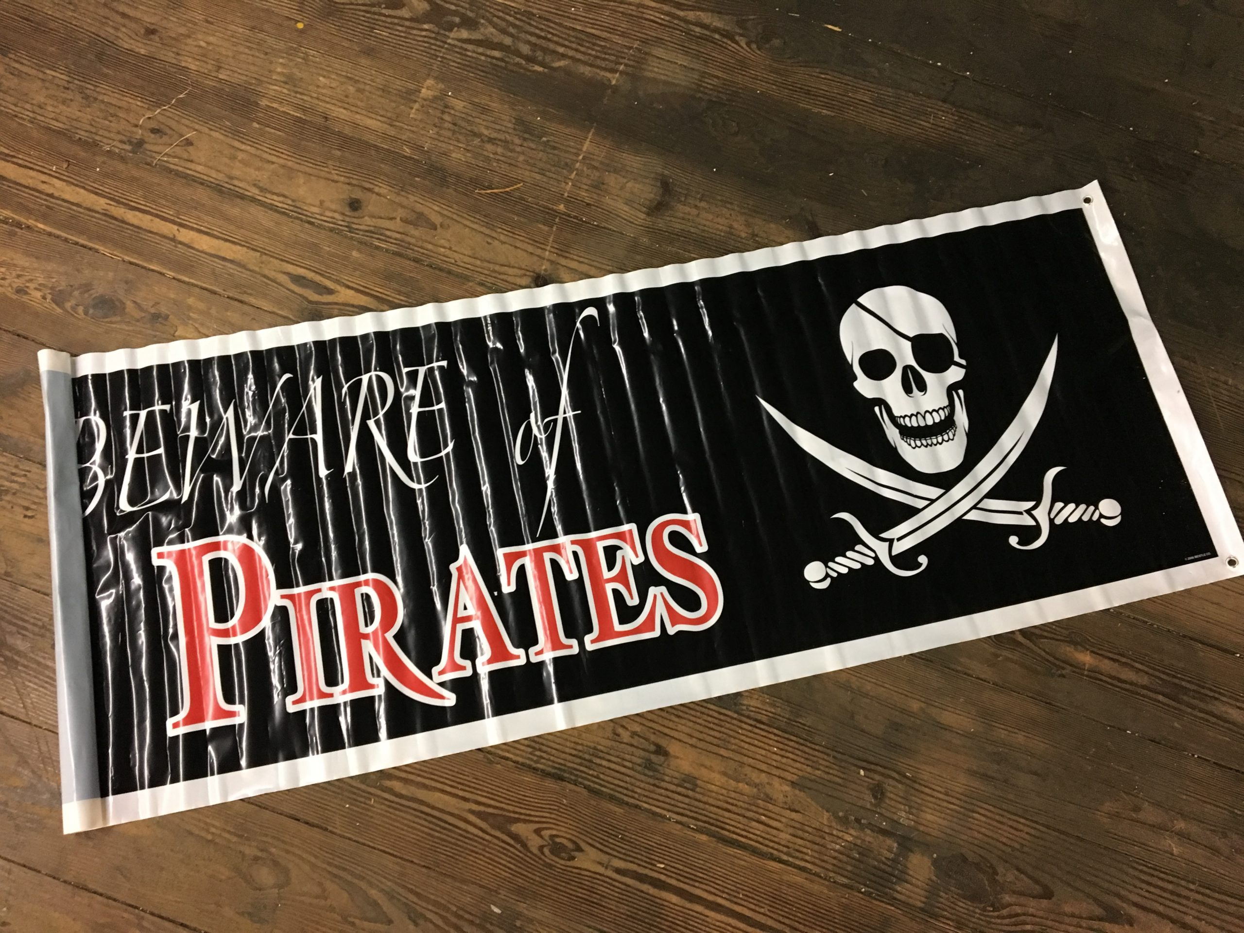 Banner, Pirate