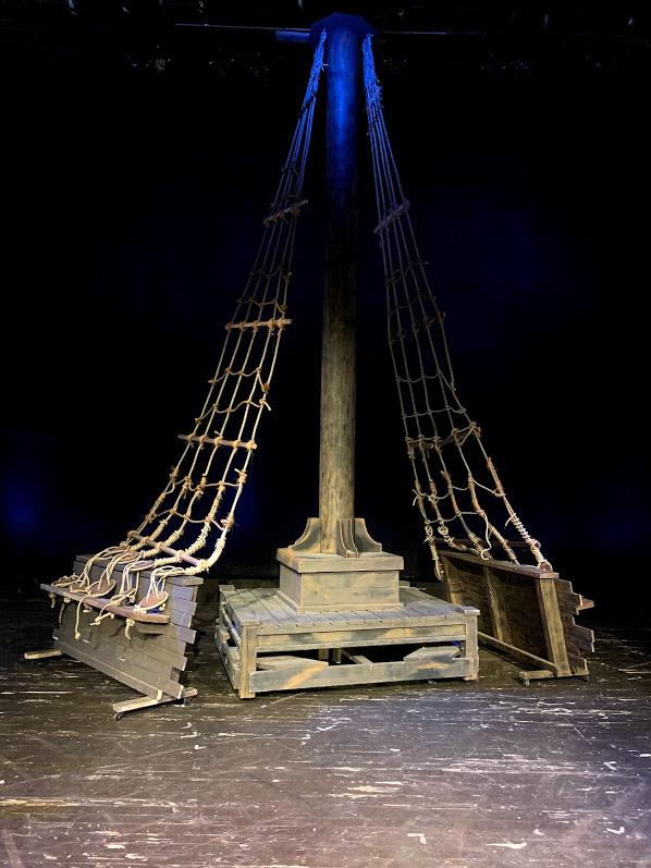 Ship Mast and Rigging