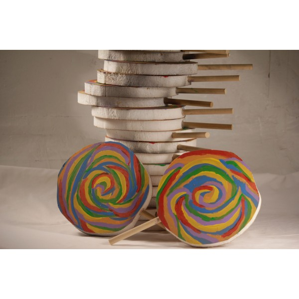 Lollipop, Giant Candy