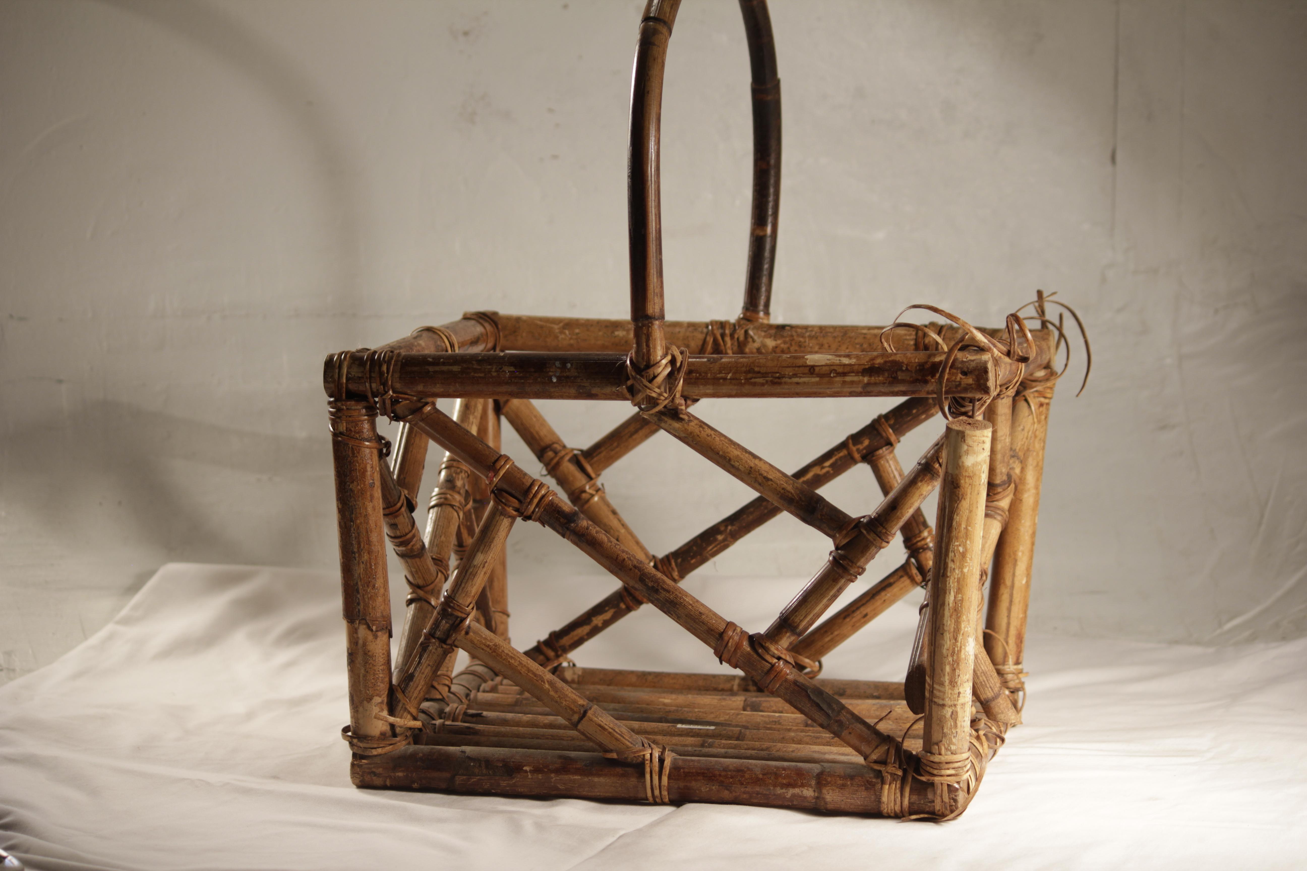 Basket, Bamboo