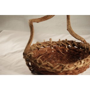Basket, Gnarled Handle