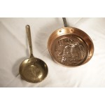 cookware- copper hanging pans