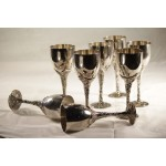 goblets- tall silver1