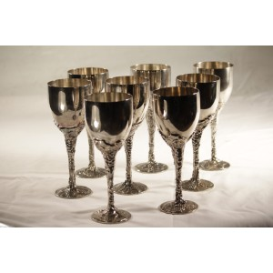 Goblet, Silver Ornate