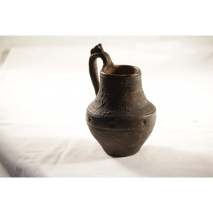 Pottery, Pitcher Small Brown