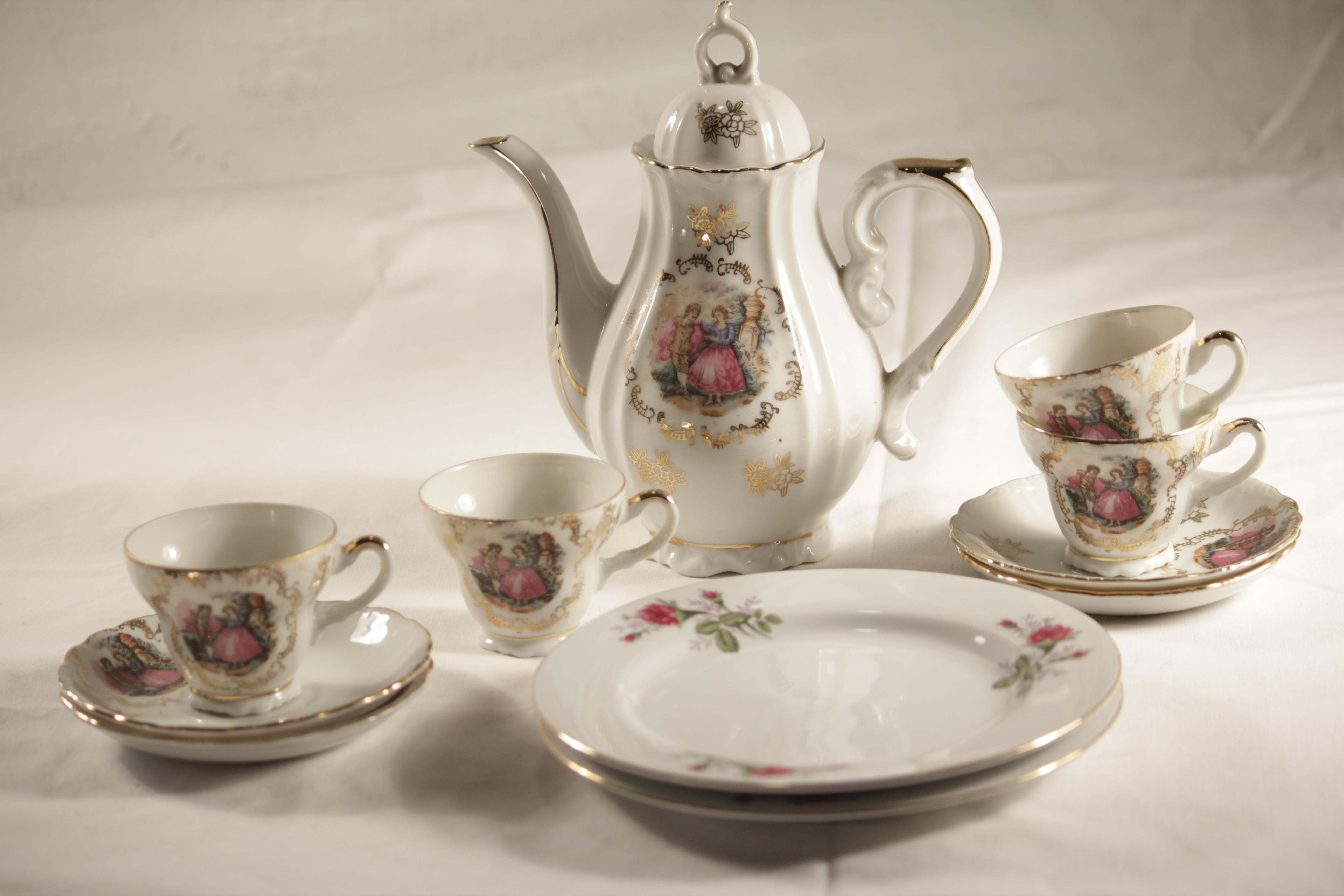 Tea Set, Vintage
