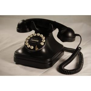 Telephone, vintage black