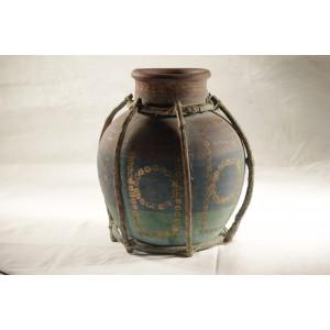 Pottery, Vase Multi-colored