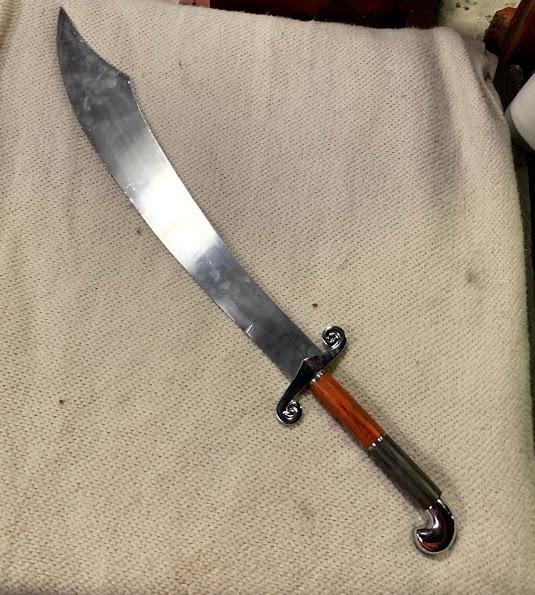 Scimitar, Sword Arabian