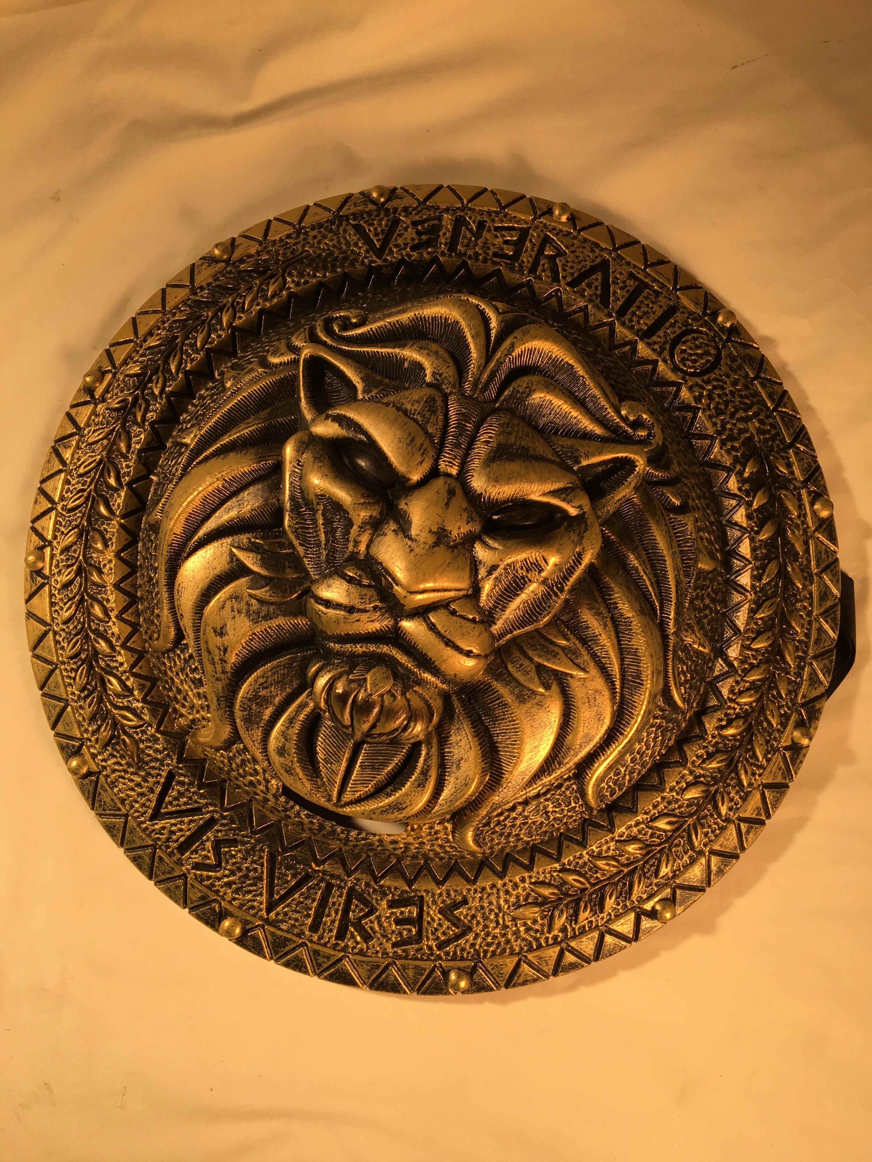Shield, Roman Lion