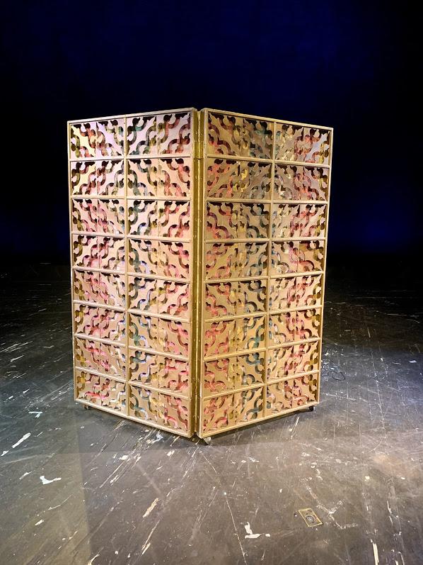 Screen, Folding Ornate